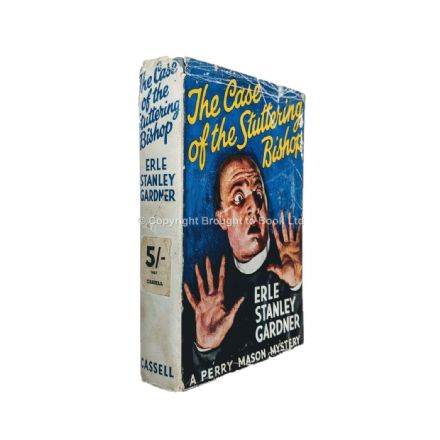 The Case of the Stuttering Bishop by Erle Stanley Gardner Fourth Impression Cassell 1942